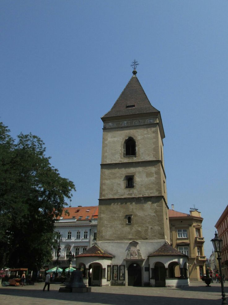 TheUrban Tower inKošice, Slovakia