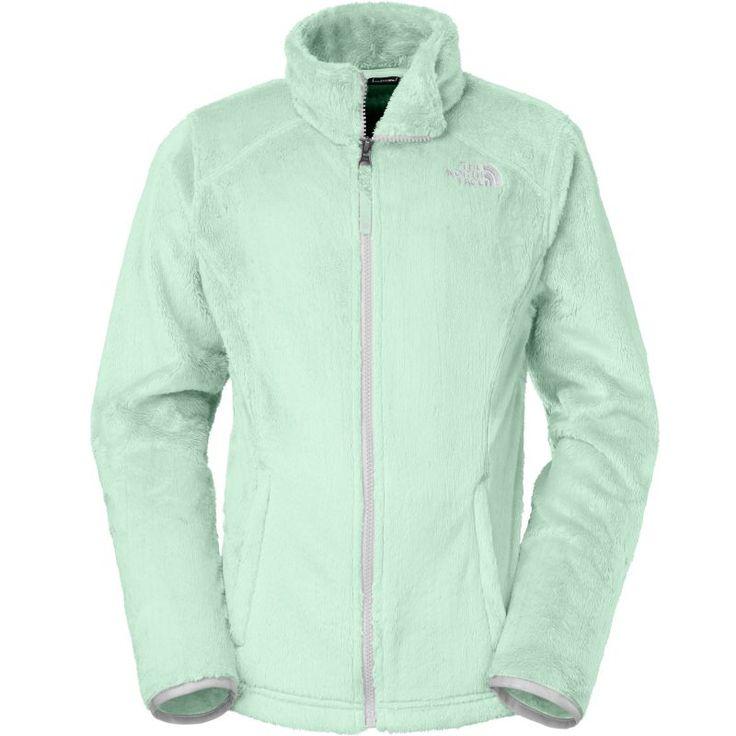 The North Face Girls' Osolita Fleece Jacket, Size: 2XS, Green