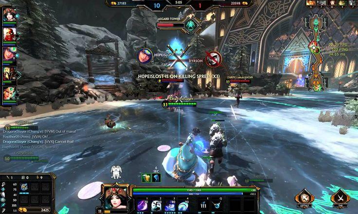 SMITE Chang'e Assault Gameplay