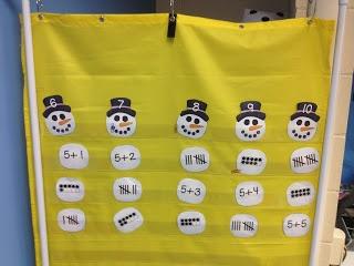 Snowmen math freebie