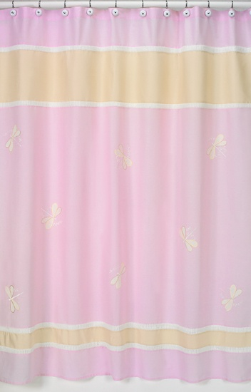 pink and yellow shower curtain. Pink Dragonfly Dreams Shower Curtain  Sweet Jojo Designs and Yellow 117 best Curtains images on Pinterest Design shop