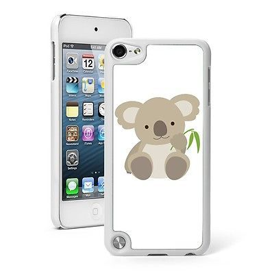 I WANT!!!!!!Apple iPod Touch 5th Gen Hard Case Cover White 5TW156 Baby Koala