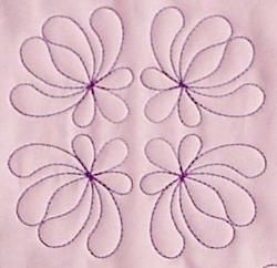 Feather Quilting Designs Set 1