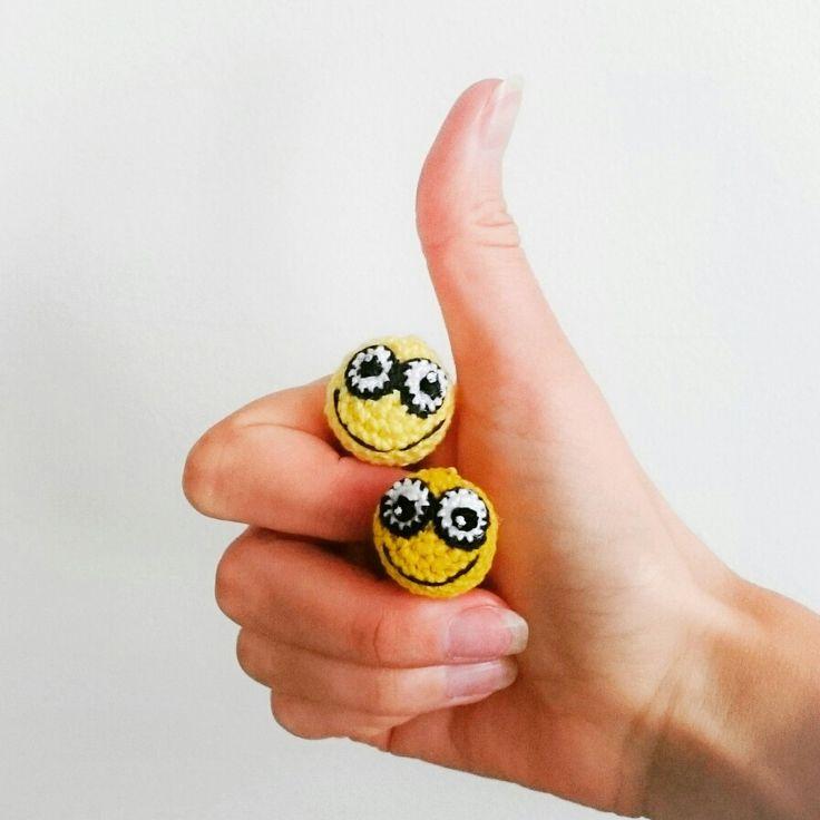 #crochettiky #crocheted #smile #emoji