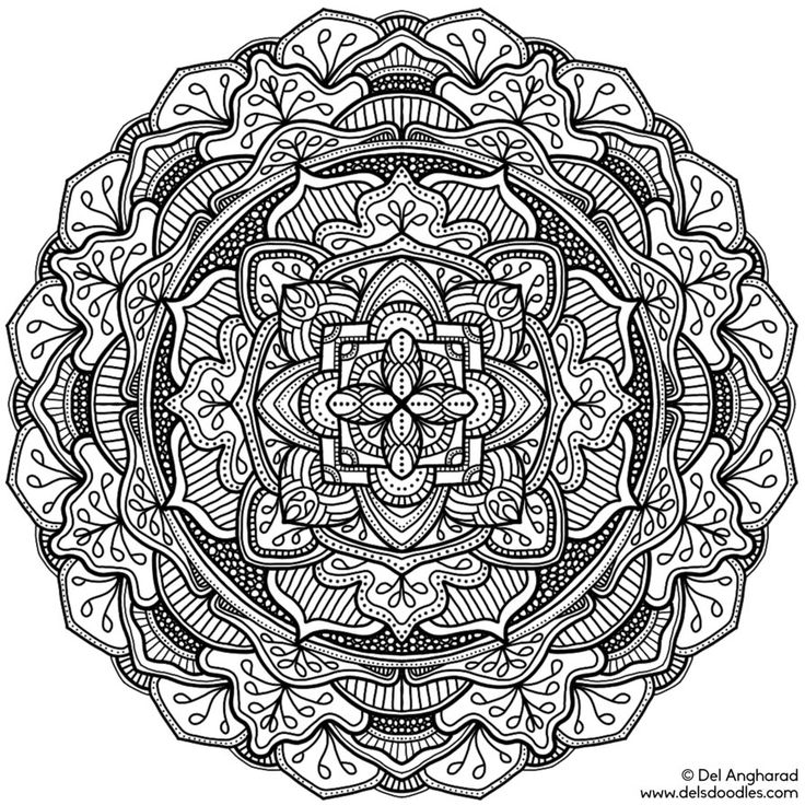daily coloring pages for adults - photo#36