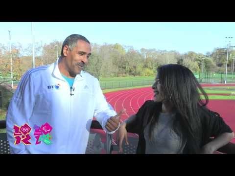 BT Storyteller Dershe Samaria talks with Daley Thompson