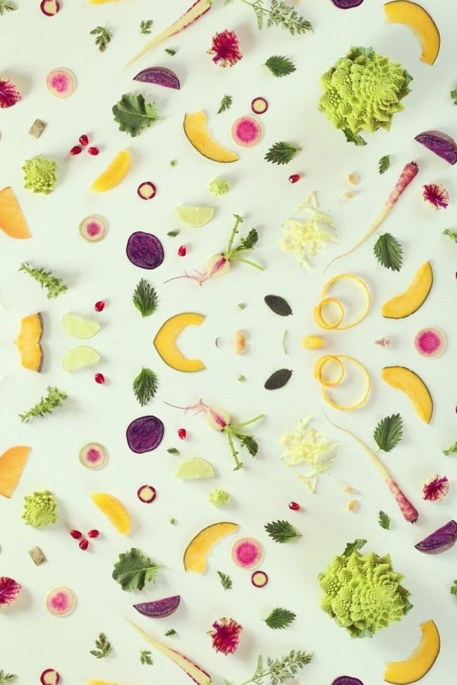 Delicious Food Background IPhone Wallpaper