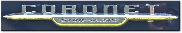 Dodge Coronet Gyromatic