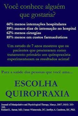 Satisfação da Quiropraxia! A Quiropraxia é boa para mim?