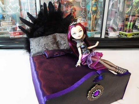 How to make a Raven Queen Bed. Although my daughter doesn't collect. The ideas for the beds are great. The blonde in the pic.