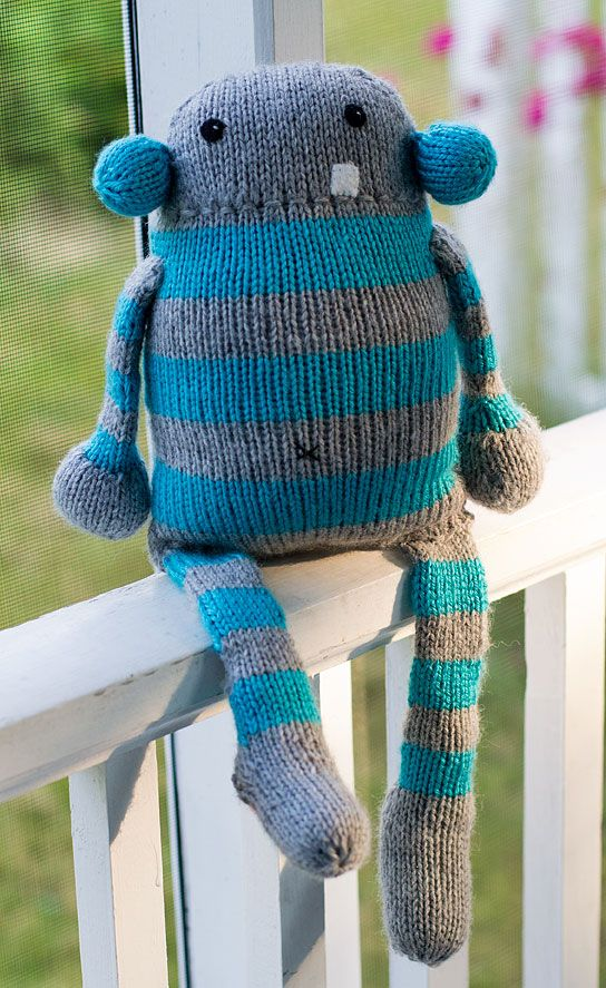 knitted monsters - Google Search