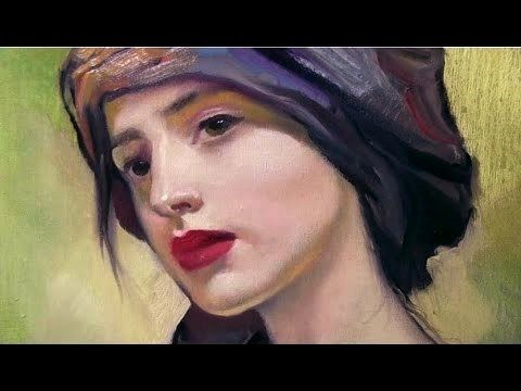 How to paint portraits easy & fast. Paint portrait tutorial. Oil painting tutorial. Acrylic painting - YouTube