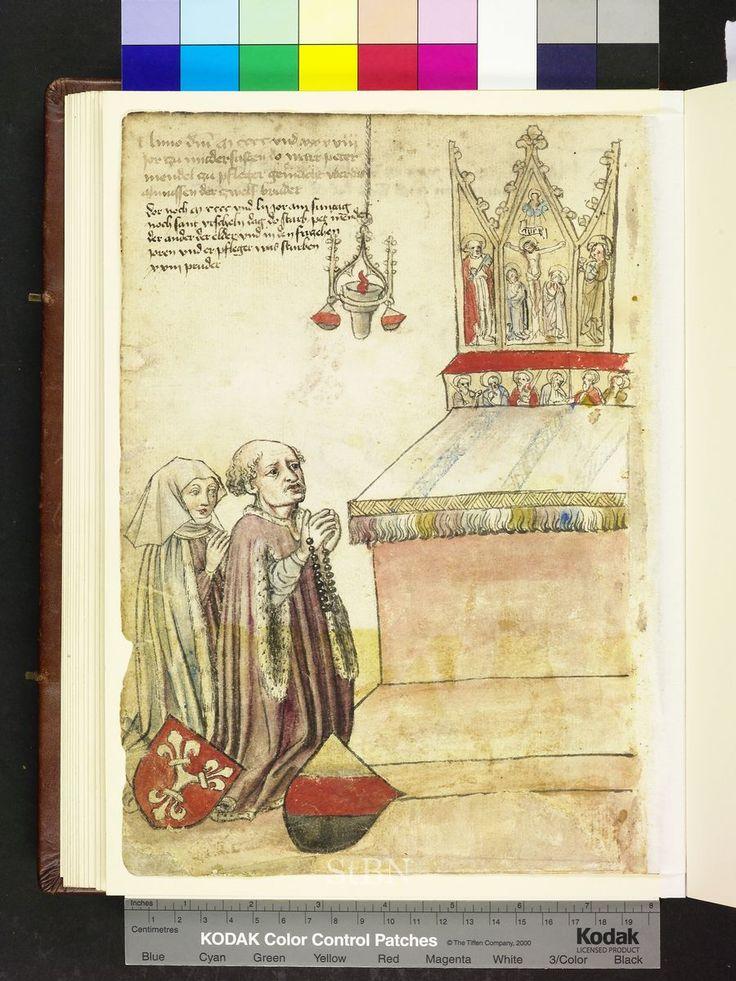 Amb. 317.2° Folio 61 verso Looks to be jet or onyx?  Die Hausbucher der Nurnberg Zwolfbruderstiftungen