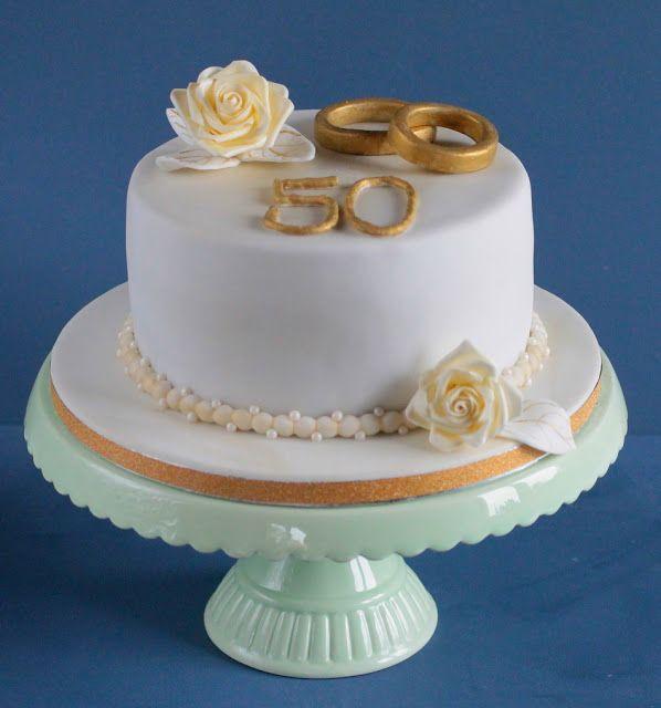 Hochzeitstorte zur goldenen Hochzeit – Ideas de pastel de cumpleaños