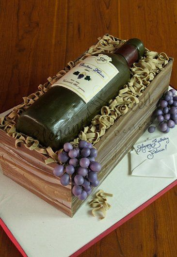 wine bottle cake                                                                                                                                                                                 More