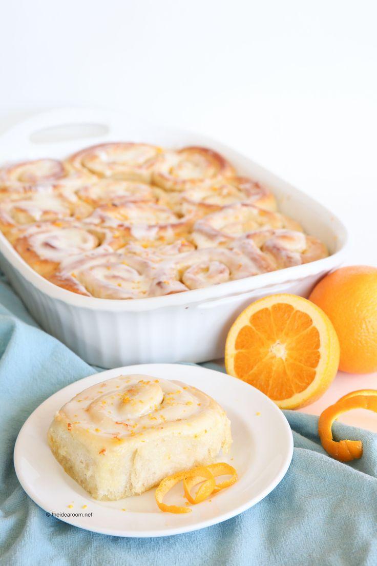 Recipe-Bread and Rolls| Orange Rolls Recipe-Minute Maid
