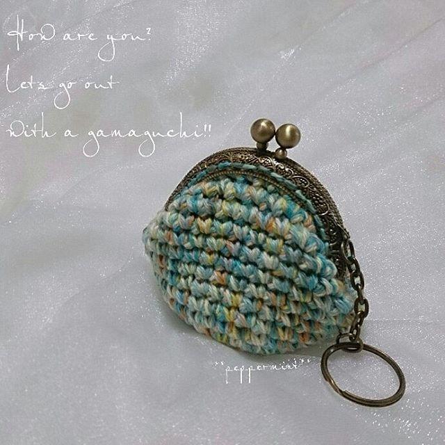 #crochet #coinpurse   #gamaguchi #crochetlove   #crochetcoinpurse #handmade