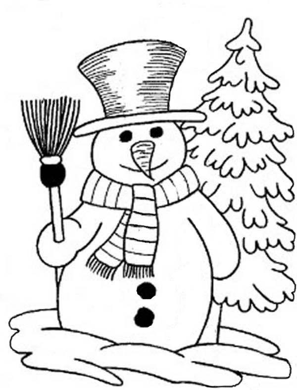 Ausmalbild Schneemann Kostenlos Kostenlose Draw Artpainting Painting Ausmalbild Schneemann Ausmalbilder Weihnachten Ausmalbilder