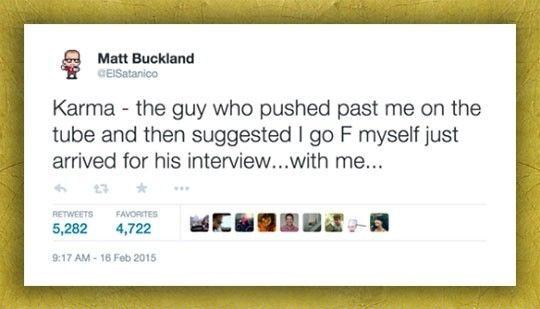 Example Of Karma #lol #haha #funny
