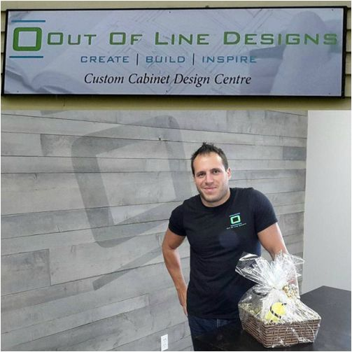 Out Of Line Designs received their Golden Basket and sent one to Ensuite Showroom. - See more at: http://www.crownsmenpartners.com/golden-baskets#sthash.3QITOwfo.dpuf