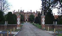 Great Fosters is a 16th-century mansion which originally lay within Windsor Great Park and is still adjacent to the town of Egham, Surrey, England. Currently a 4* hotel Stayed here in 1985.
