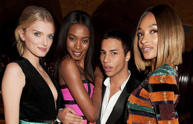 De Rihanna a Kendall Jenner, nadie se resiste a los encantos de Balmain y mucho menos los de su guapo director creativo.