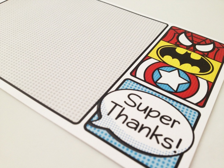 Note cards, Superhero and Spiderman on Pinterest