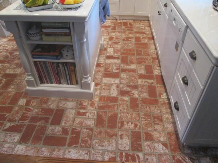 brick paver kitchen floor 17 best images about brick floors on 4888