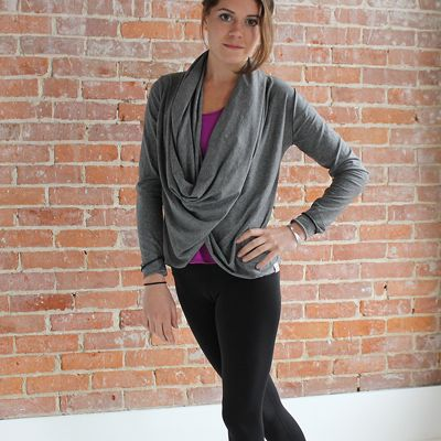 Gray Athletic Wrap   GTS Clothing