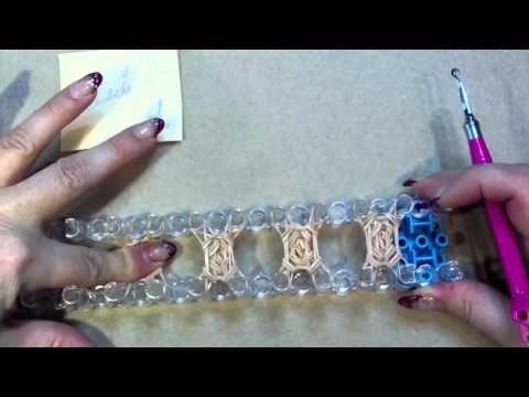 1. Teil - Rainbow Loom 3D Igel - von Lachtäubchen Loom - YouTube
