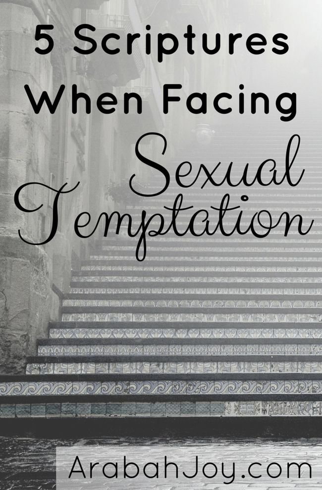 Perhaps you or someone you know struggles with sexual temptation. You need a weapon powerful enough to demolish strongholds... here it is, straight from God's Word!