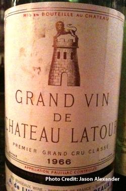 1966 Chateau Latour Pauillac