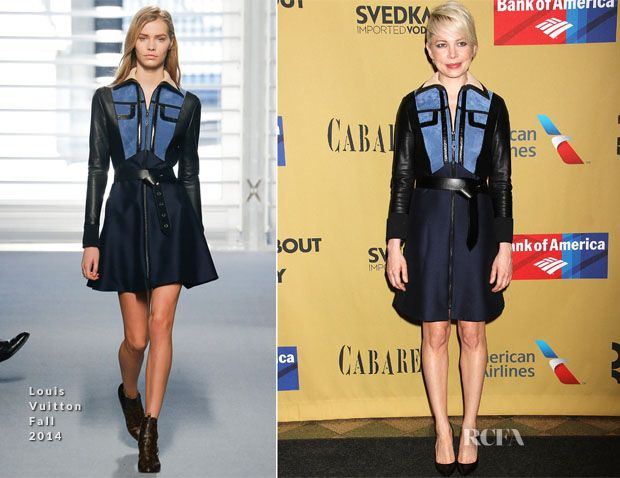 Michelle Williams In Louis Vuitton – 'Cabaret' Broadway Opening Night After Party