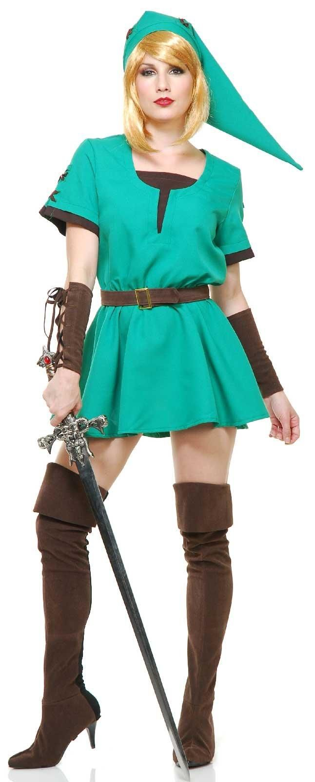 Warrior Elf Adult Princess Costume from BirthdayExpress.com