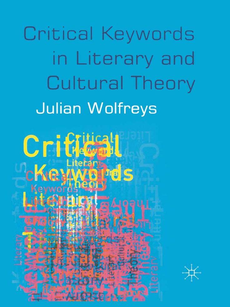 Kritische Schlüsselwörter in der Literatur- und Kulturtheorie (eBook-Verleih)