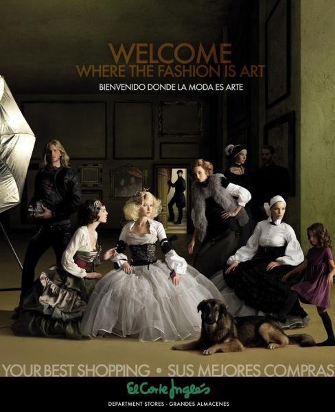 El anuncio de El Corte Ingles (copia de Las meninas)