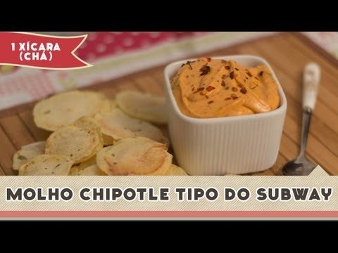 Molho Chipotle do Subway
