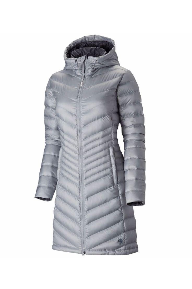 2016 Mountain Hardwear Women's Nitrous Hooded Down Parka Apres Coat