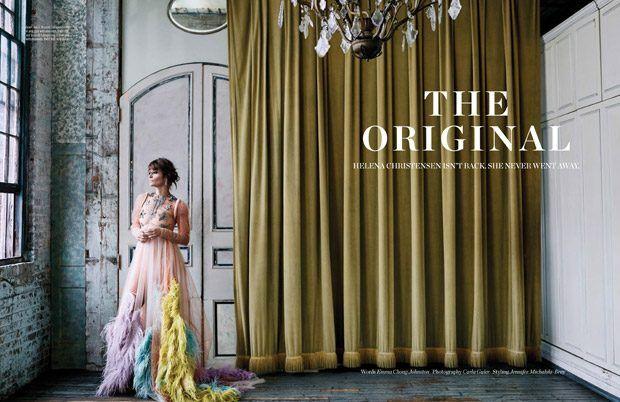 Супермодель Хелена Кристенсен (Helena Christensen) украсила ноябрьский Elle Malaysia. Фотографировала датскую красавицу Карла Гулер (Carla Guler).