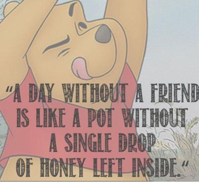 Winnie Pooh Goodbye Quotes