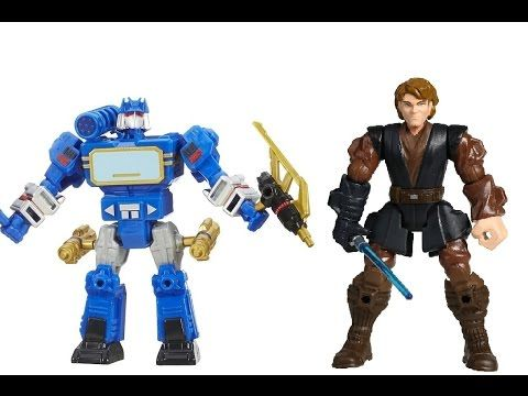 Игрушки для мальчиков Трансформеры Звездные войны Распаковка Онлайн