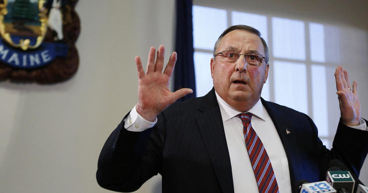 """Maine Republican Gov. Paul LePage believes """"we need Donald Trump to show some authoritarian power in our country."""" He may not, however, know what """"authoritarian"""" means."""