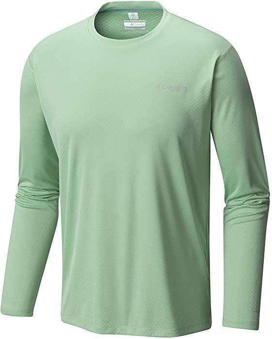 d2d738ba729 Columbia Mens PFG Zero Rules LS Shirt 1536111917_M - Kelp at Amazon Men's  Clothing store: