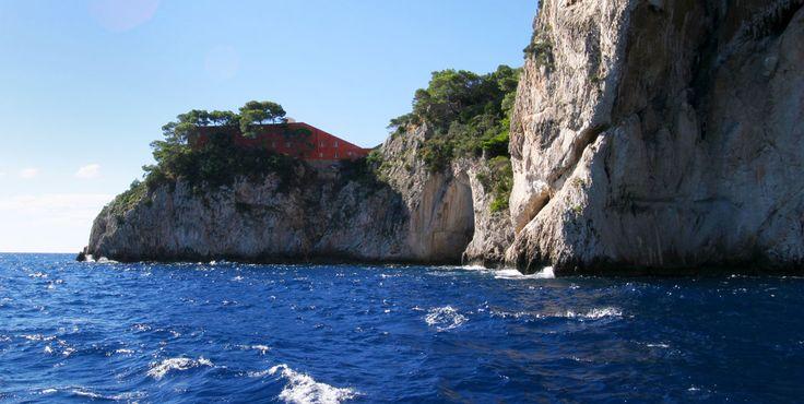 Villa Malaparte, Isle of Capri, Campania, Italy www.italyunfettered.com