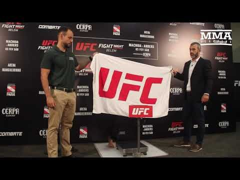 UFC Belem Weigh-Ins: Eryk Anders Misses Weight (1st Try) - MMA Fighting