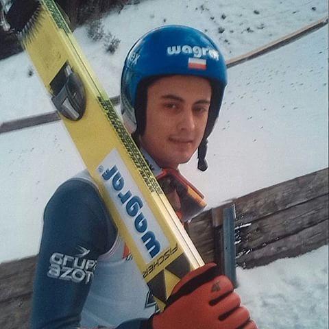 Maciej Kot, COC Titisee-Neustadt 2015. ©ME  @maciejkot Thanks for this one! :-) #skijumping #skispringer #skijumper #skispringen #maciejkot #poland #conticup #titiseeneustadt #fun
