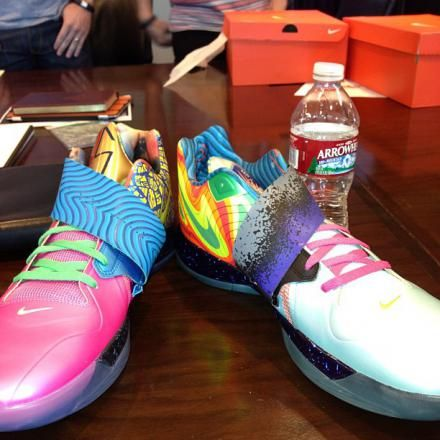 """NIKE ZOOM KD IV """"WHAT THE KD"""" #sneaker"""
