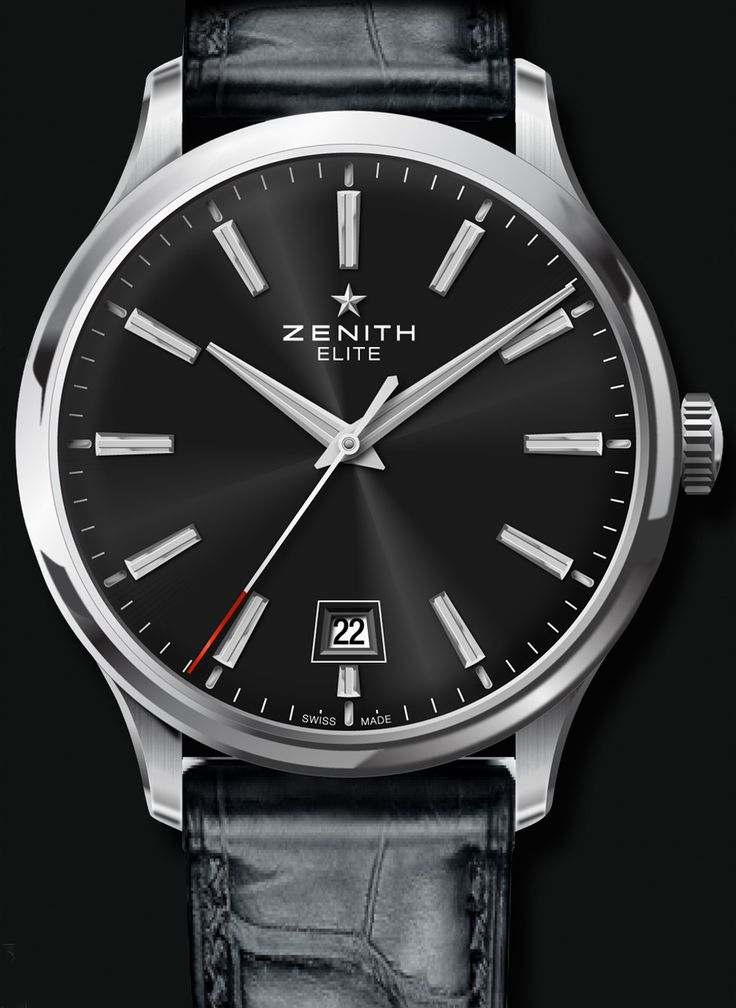 Zenith Elite Captain Central Second Watch