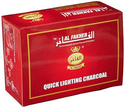 Al Fakher Quick Light Hookah Charcoals Box, 40Mm