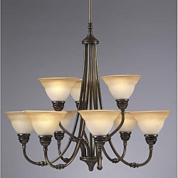@Overstock.com - A nine-lamp antique brass chandelier by Aztec Lighting can be the focal point of your redesigned dining room. This elegant ceiling fixture brings warm, traditional charm to the room, so your guests feel welcome at your next dinner party.http://www.overstock.com/Home-Garden/Transitional-9-Light-Antique-Brass-Chandelier/7080433/product.html?CID=214117 $273.99